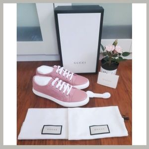 GUCCI Pink Sneakers NWT